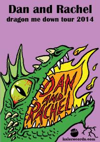 Dan and Rachel 2014 Tour Poster
